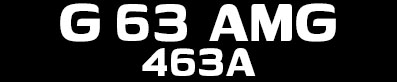 Tuning Mercedes AMG G 63 463A