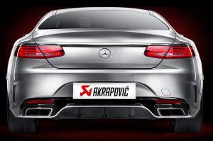Akrapovic Abgasanlagen Mercedes S63 AM